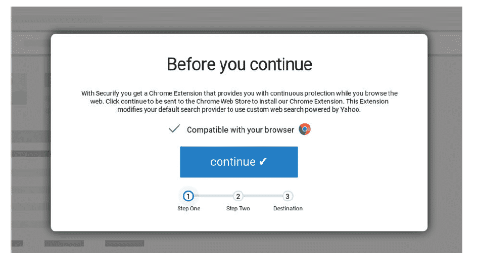 Malicious Browser Extension